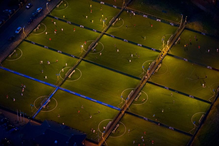 Футбольные поля, 20 Union Street, Манчестер