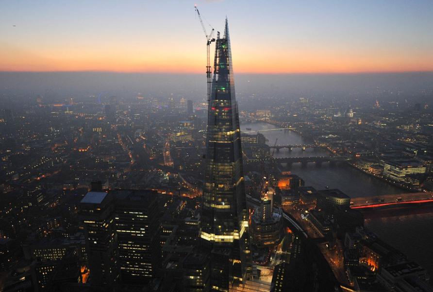 Осколок, самое высокое здание в Европе