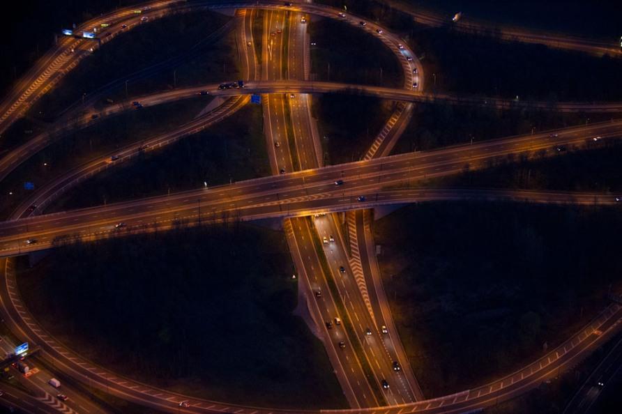 Автомагистрали M62 и M60