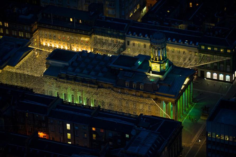 Галерея современного искусства, Royal Exchange Square, Глазго