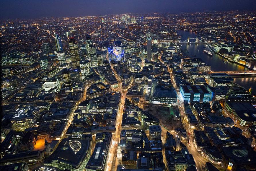 Лондон Сити, Тауэрский мост и река Темза