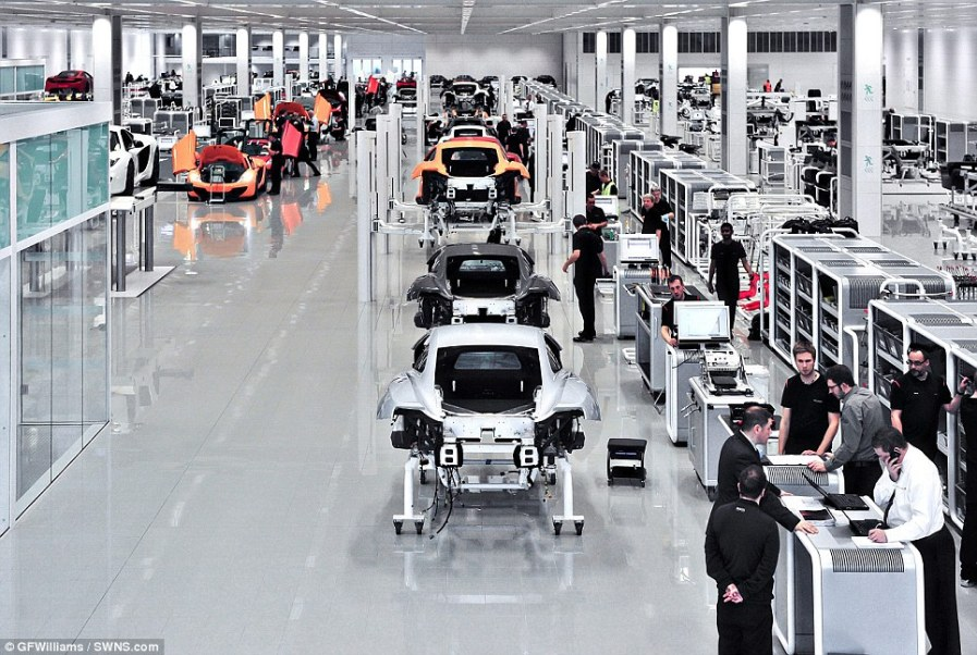 Компьютеры и роботы стали настоящими помощниками людям в производственном процессе