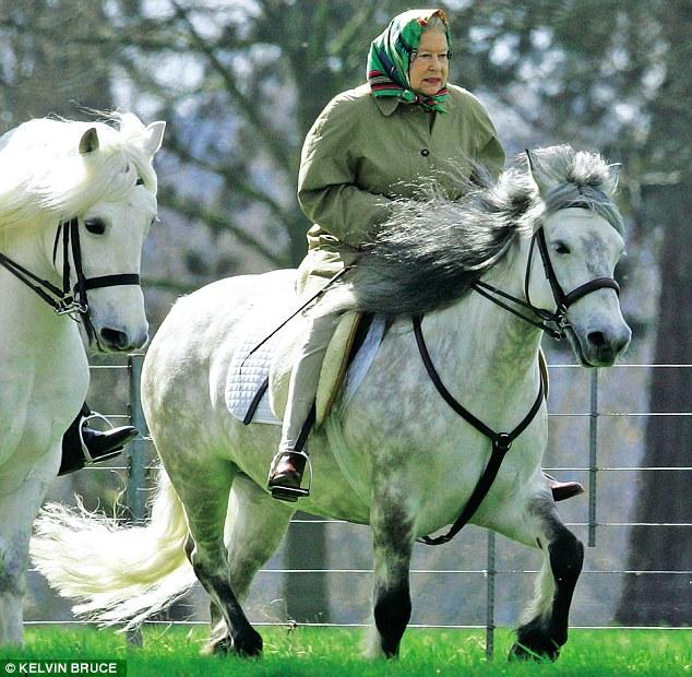 Елизавета Вторая, королева Английская