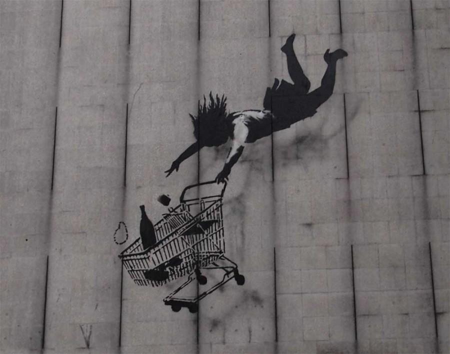 Работы Banksy