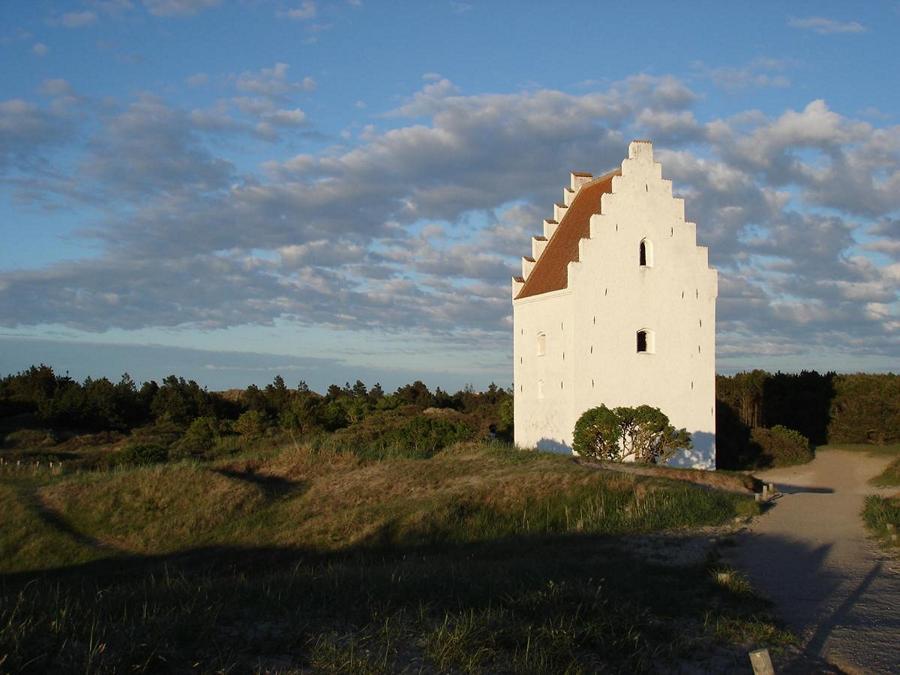 Скаген - Башня Захороненной церкви