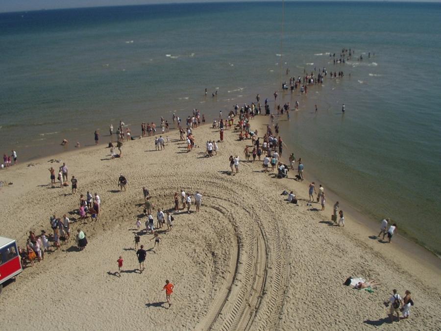 Скаген - место где встречаются два моря