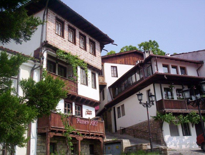 Город Велико Тырново в Болгарии