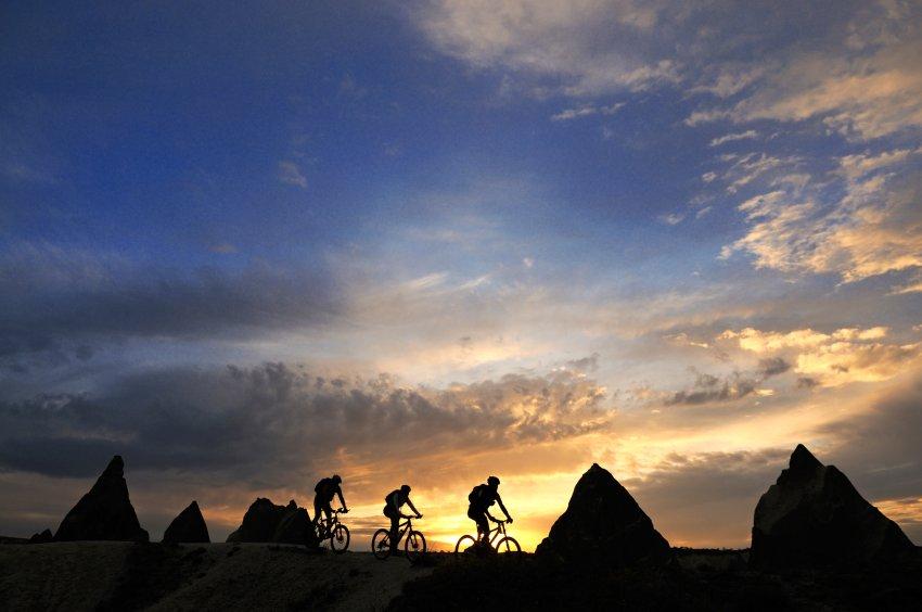 На горных велосипедах по Каппадокии