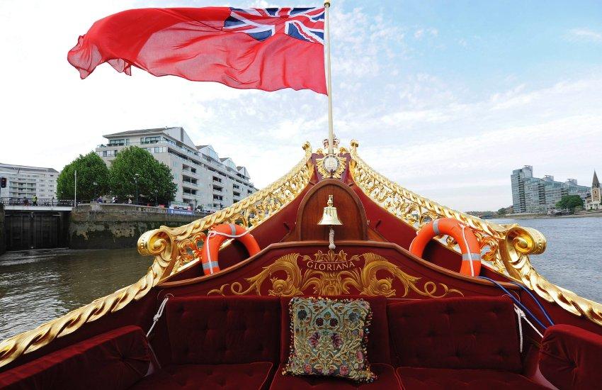 Парад кораблей на Темзе