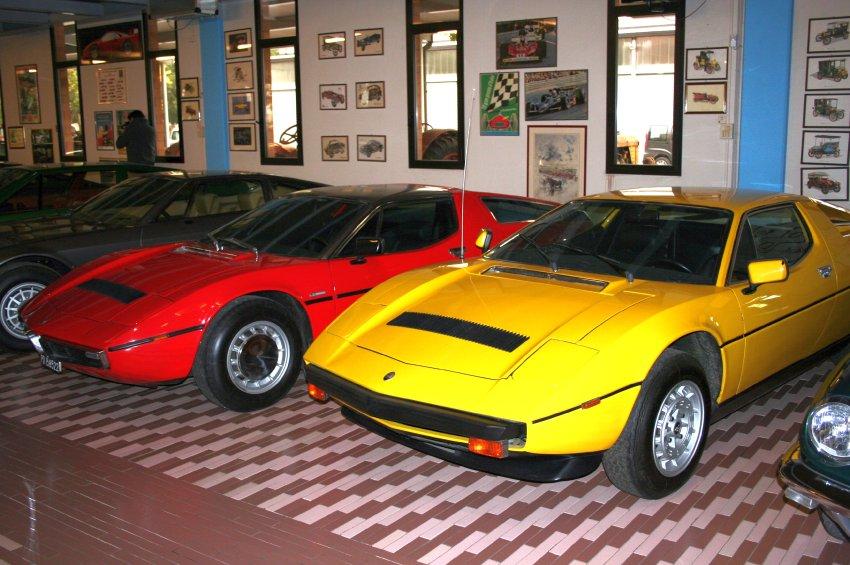 Спортивные автомобили Maserati (1973 и 1982 г.г)