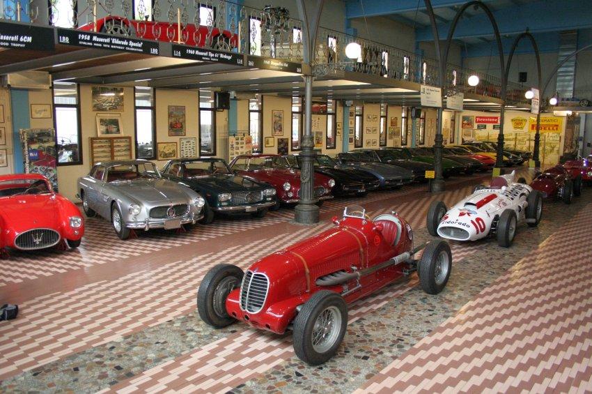 Maserati 6CM - любимый автомобиль Умберто Панини