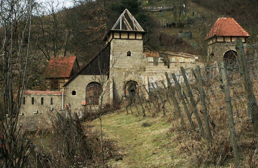 Нелегальный замок в Хеппенхайме
