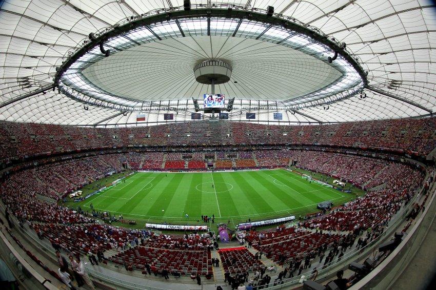 Многие места на стадионе были заняты задолго до открытия чемпионата