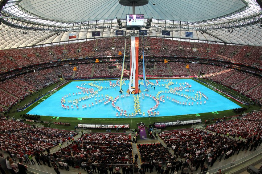 Церемония открытия чемпионата