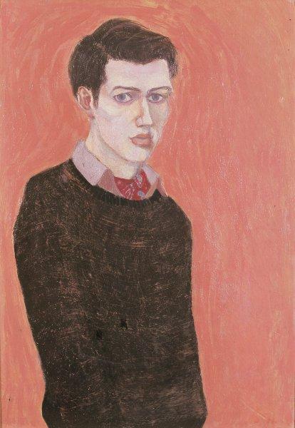 Автопортрет, 1957 г