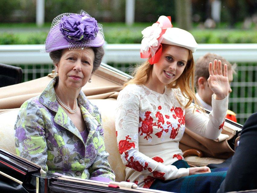 Принцесса Анна и принцесса Беатрис