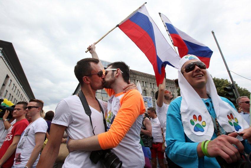 Гей-парад в Берлине