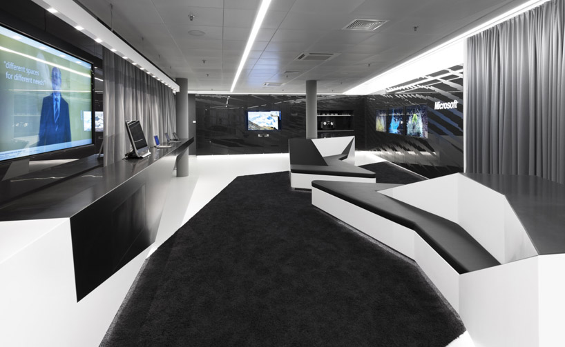 Брифинг центр компании Microsoft в Швейцарии
