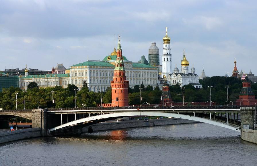 Москва, вид на Кремль