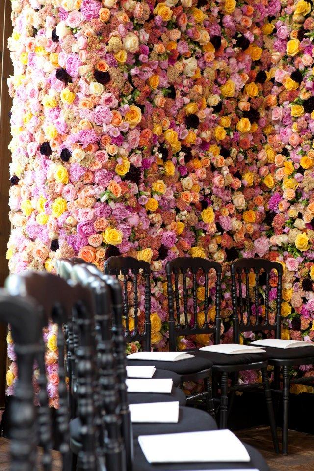 Цветочное шоу осень/зима 2012 от Christian Dior