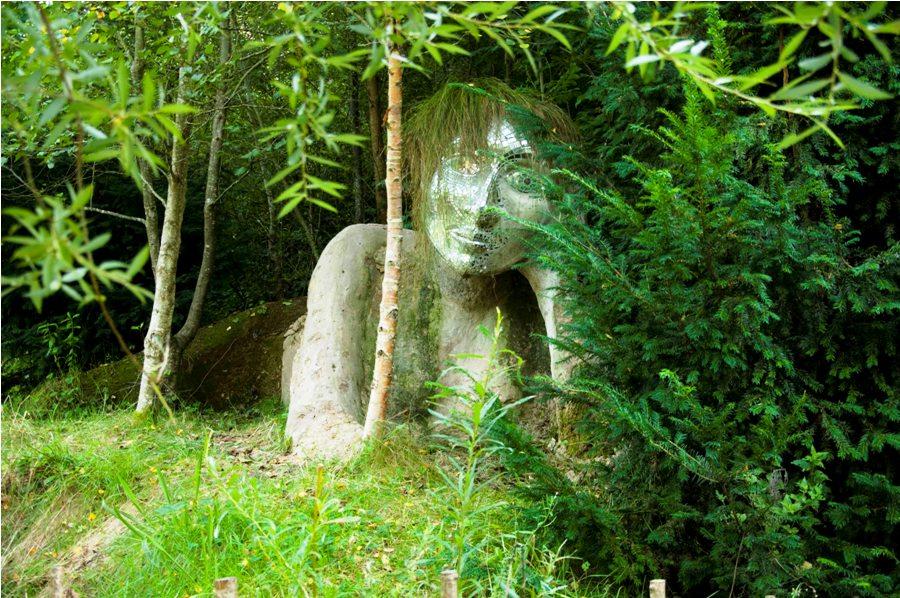 Крупнейший парник в мире Eden в Корнуолле