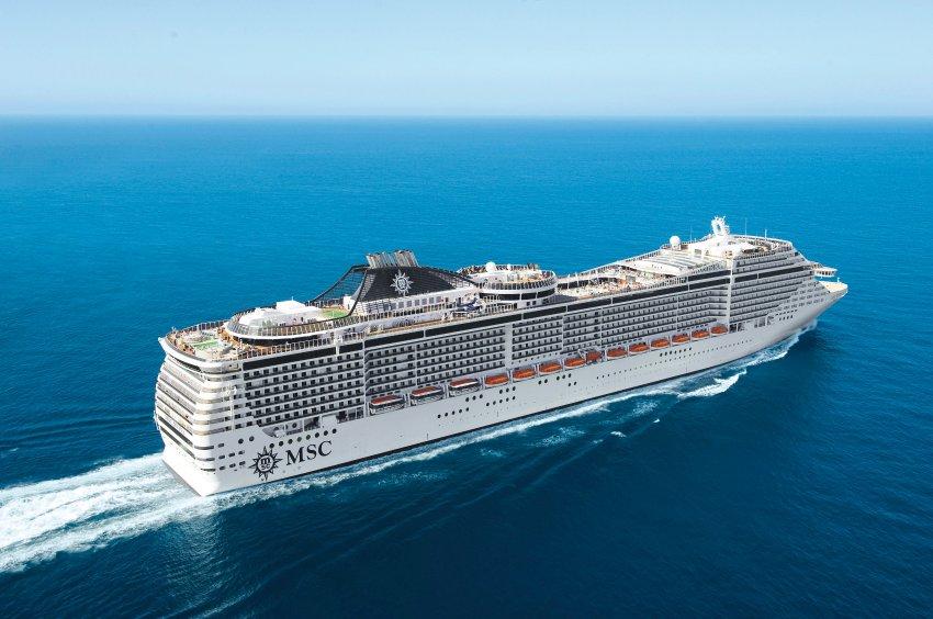 Новый круизный лайнер «MSC Divina»
