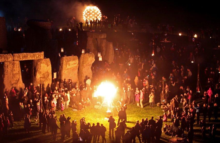 Фестиваль в Стоунхендже