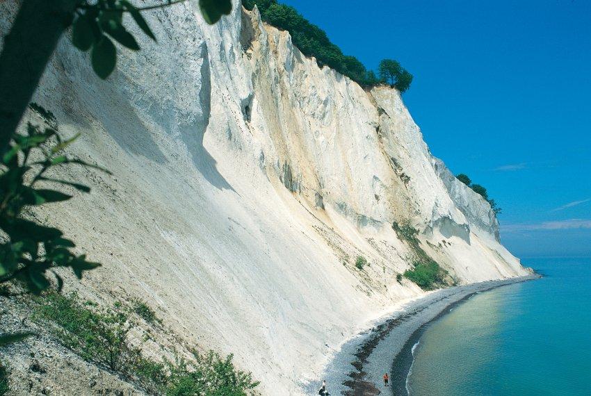 Меловые скалы на острове Мён
