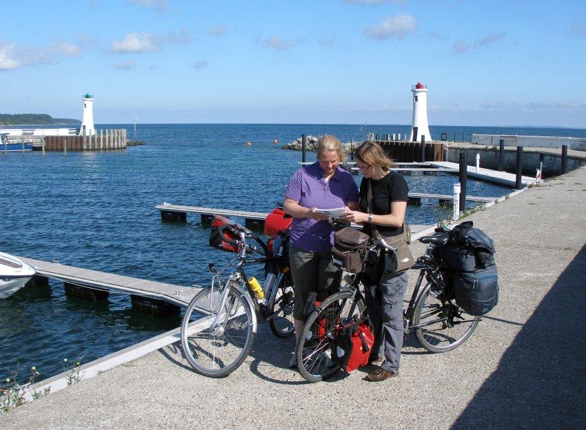 Велосипед и паром - лучшие средства передвижения