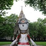 Талисманы Олимпийских игр на улицах Лондона