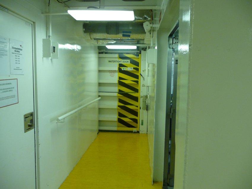 """На корабле """"AIDAdiva"""" все водонепрницаемые перегородки были закрыты"""