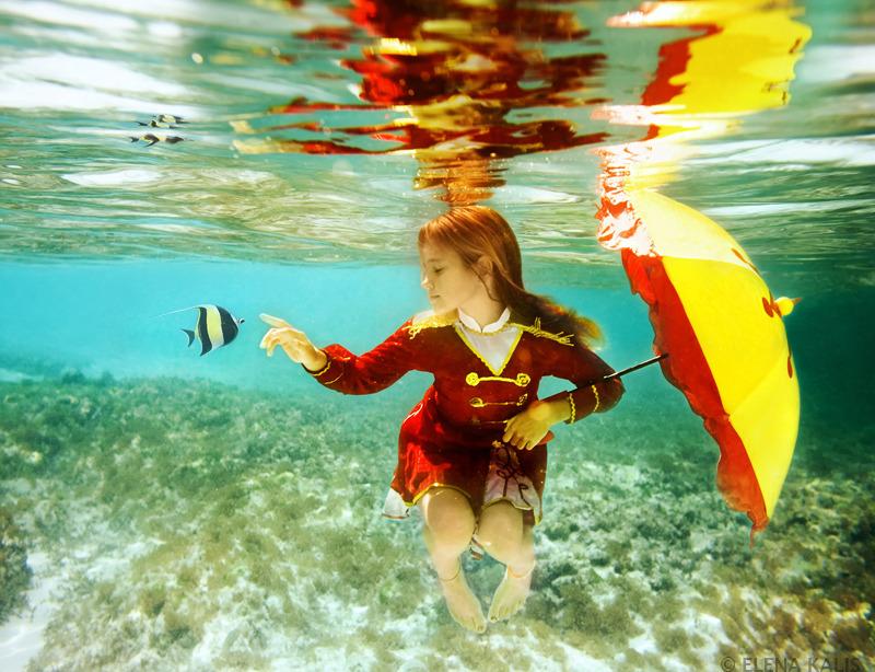 Таинственный подводный мир от elena kalis