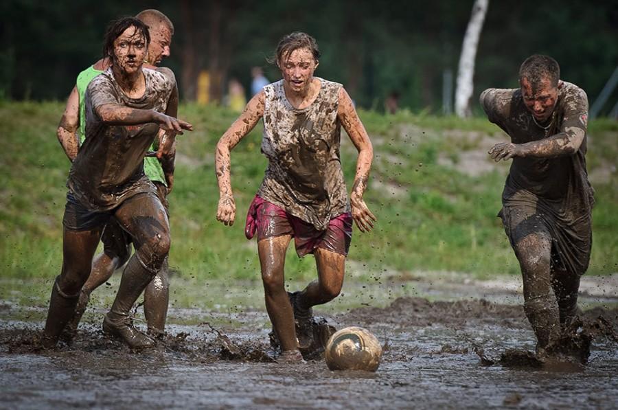 Swamp Soccer в Krasnobrod в Польше
