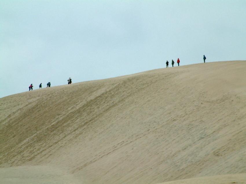 На курорте Леба слишком много песка
