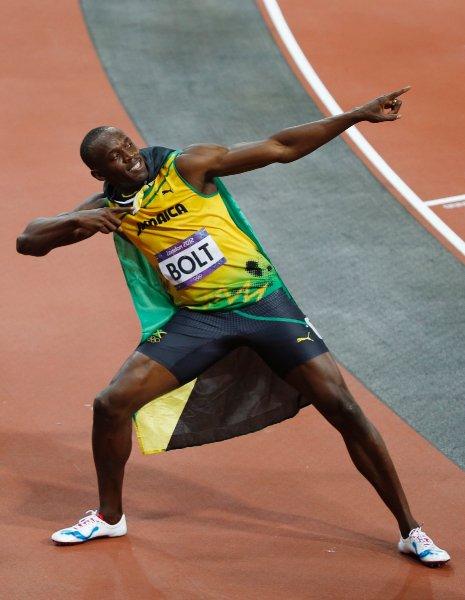 Усейн Болт - самый быстрый в мире человек