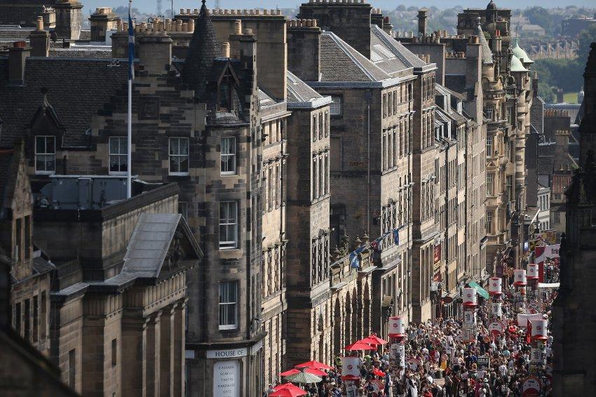 Месяц фестивалей в Эдинбурге
