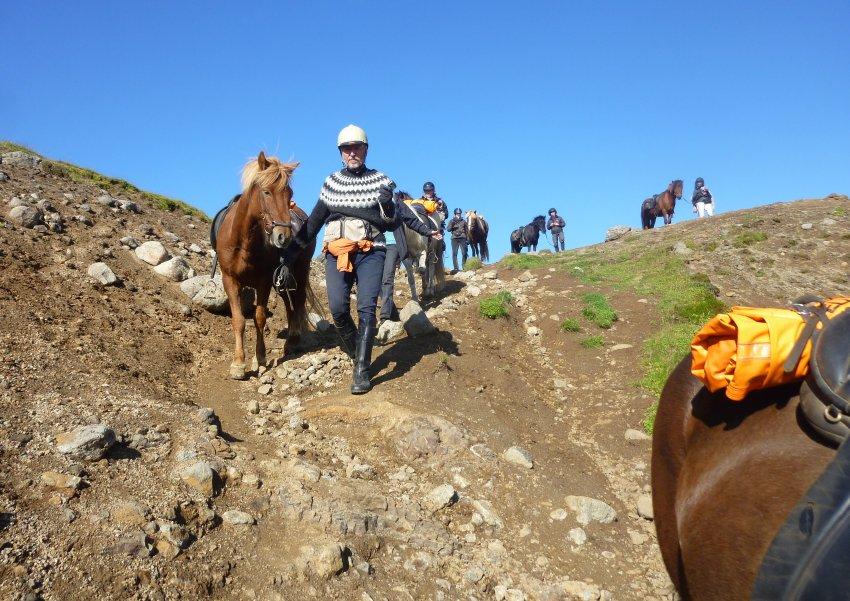 На лошадях по Исландии
