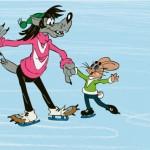 Кадр из мультфильма 'Ну погоди'