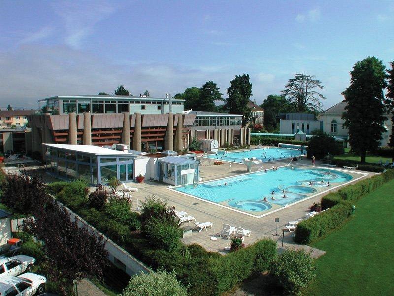 Термальный курорт Ивердон-ле-Бен