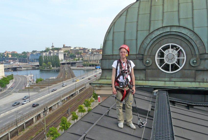 Экскурсия по крышам