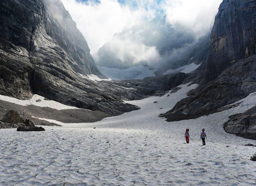 Путешествие к леднику Blaueis