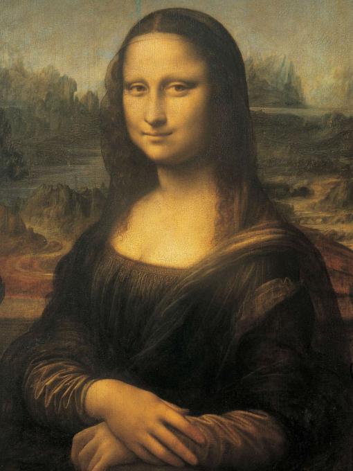 "Знаменитая ""Мона Лиза"" да Винчи"