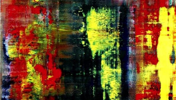 Герхард Рихтер «Абстрактная живопись (809-4)»