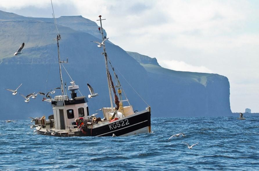 Рыболовное судно вблизи Svartaberg, фото CC BY SA Arne List