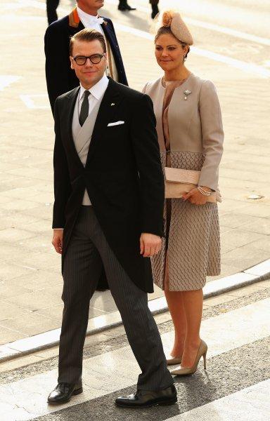 Принцесса Виктория и принц Даниэль из Швеции