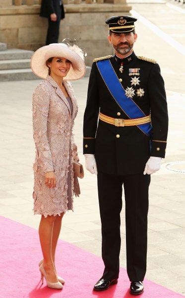 Принц Фелипе и принцесса Летиция из Испании