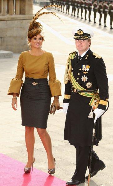 Принцесса Максима и принц Виллем Александр из Нидерландов