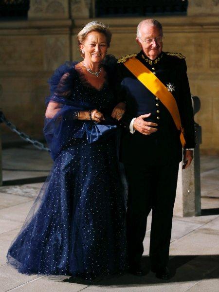 Король Альберт и королева Паола из Бельгии