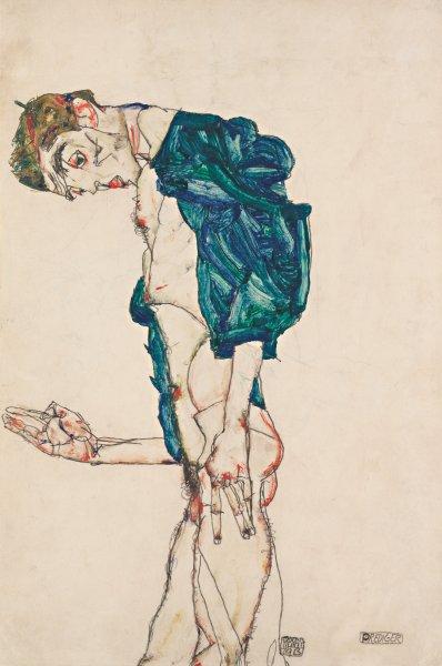 """""""Проповедник"""" Эгона Шиля, 1913 г."""