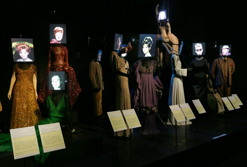 Выставка голливудских костюмов в Лондоне